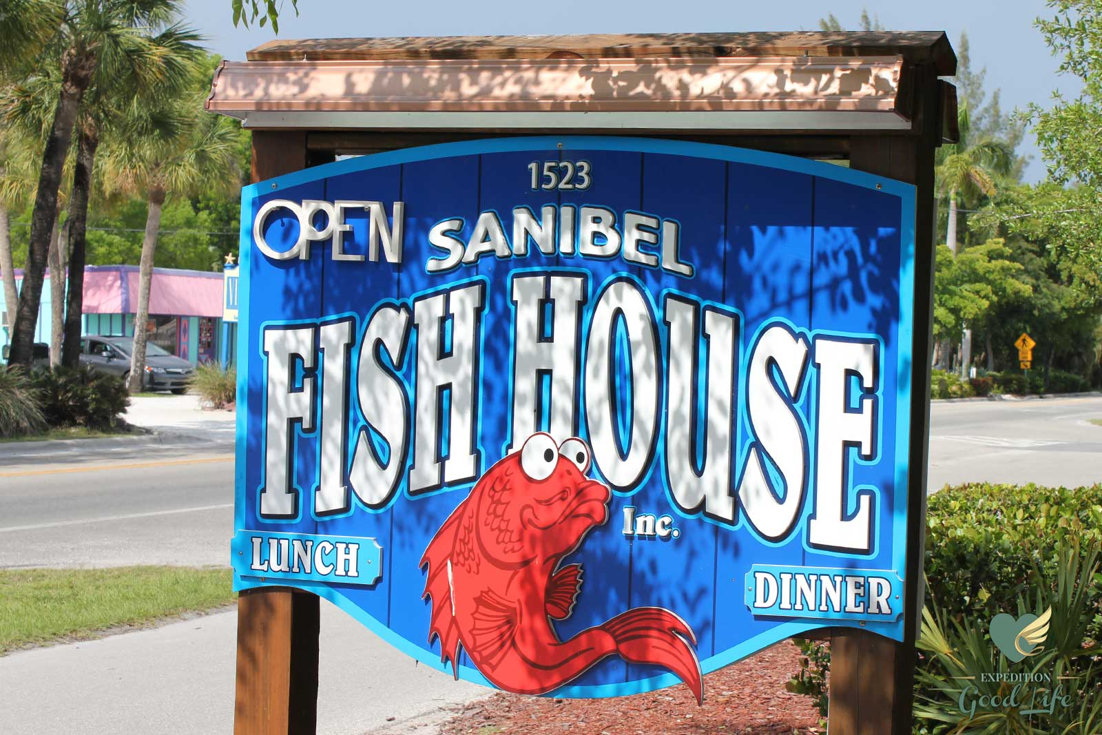 Sanibel fish house review expedition good life for Sanibel fish house